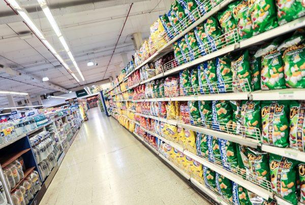 Góndola de supermercado